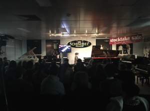Schimmel Piano Owners Club Concert at Bernies Music Land